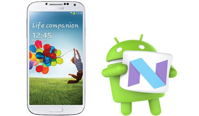 update Galaxy S4 to Android 7