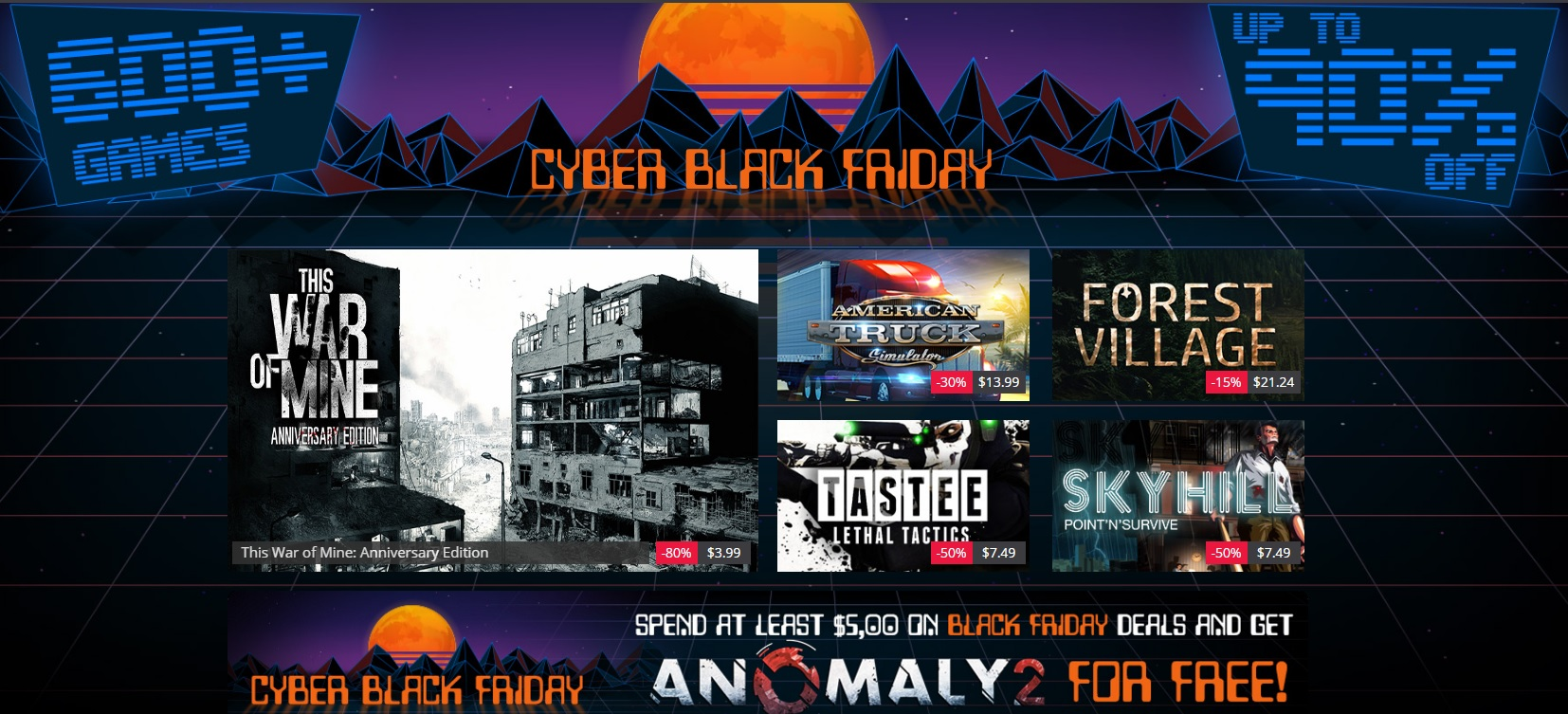 Games Republic Black Friday Deals Has Over 600 Games on Sale