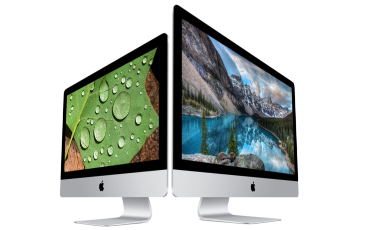 iMac lineup Xeon CPUs 64GB RAM