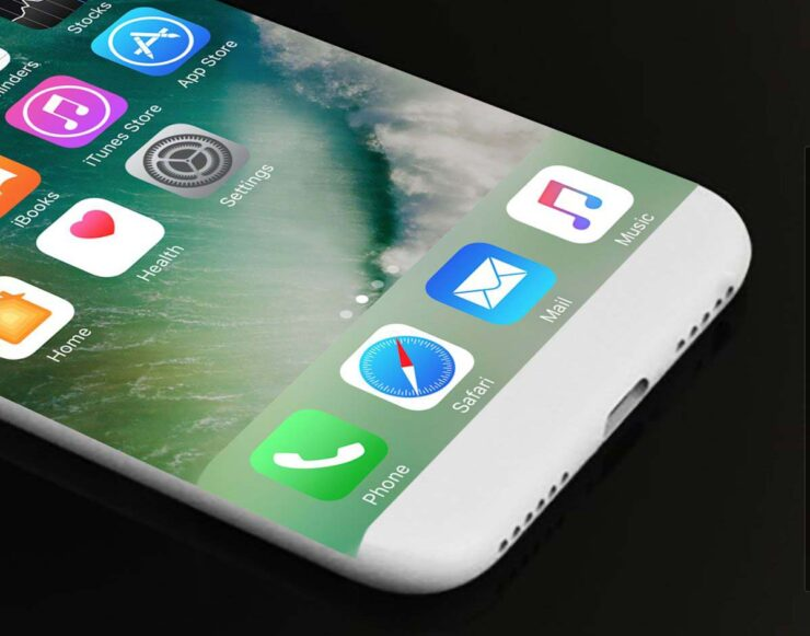 iPhone 8 curved display coming 2017