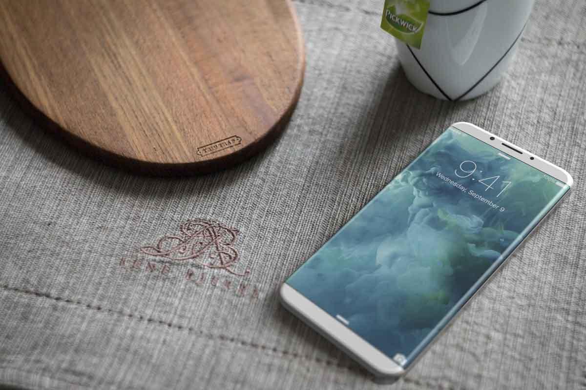 iPhone 8 wireless charging 2017