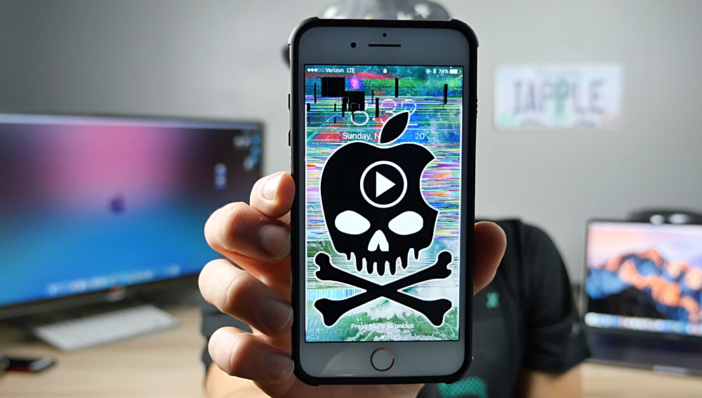 This Video Crashes an iPhone Completely, Requires Hard Reset to Fix