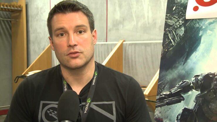 Josh Holmes Halo 5 leaves 343