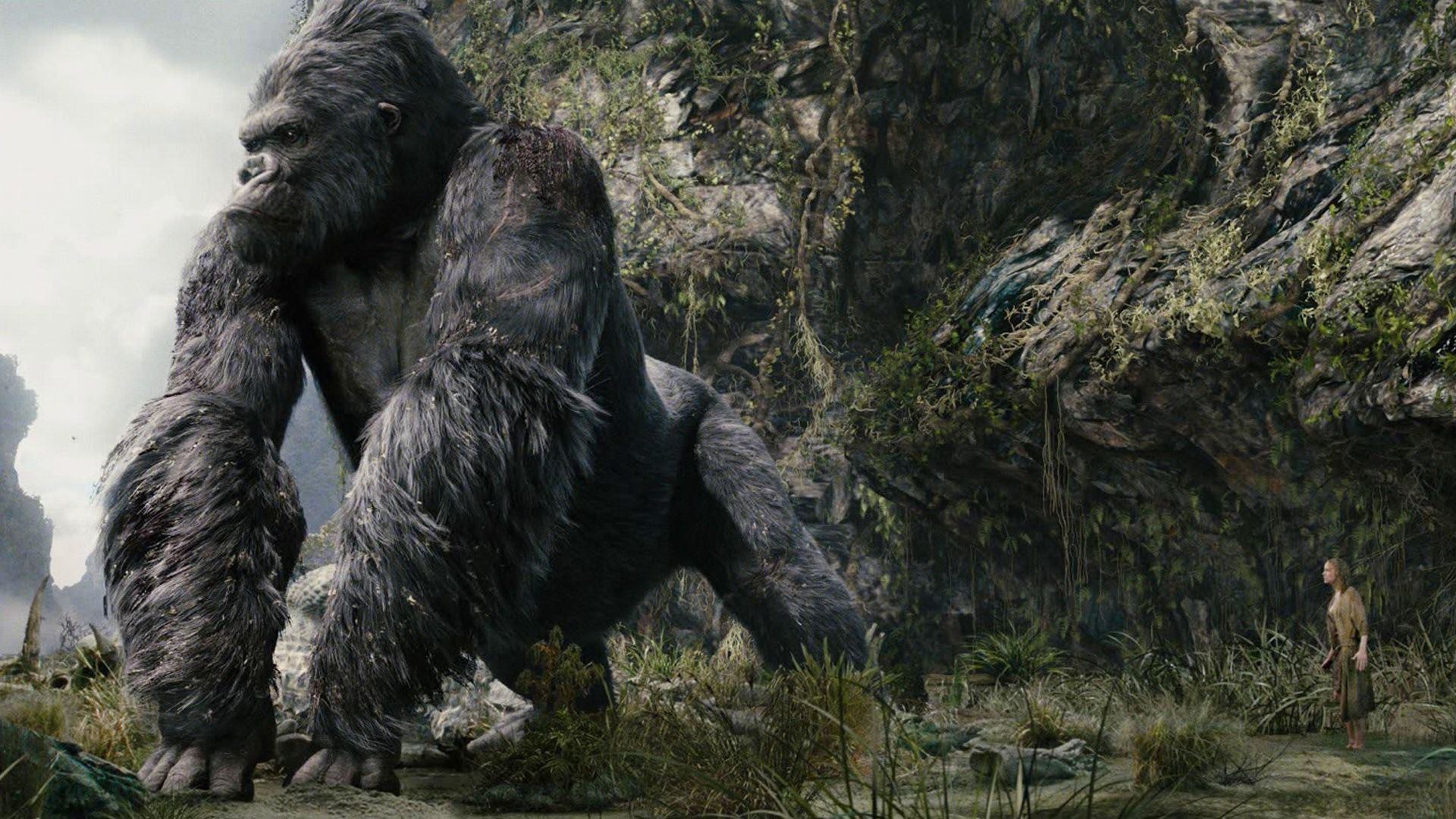Skull Island: Kong: Skull Island Gets Action Packed Debut Trailer