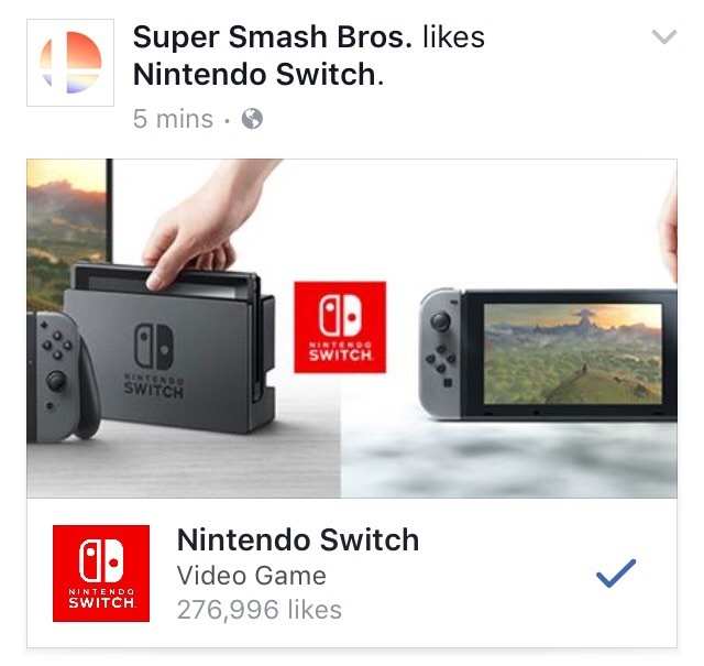 nintendo switch super smash bros port