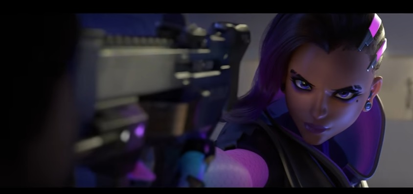 Sombra Finally Revealed Overwatch League Announced