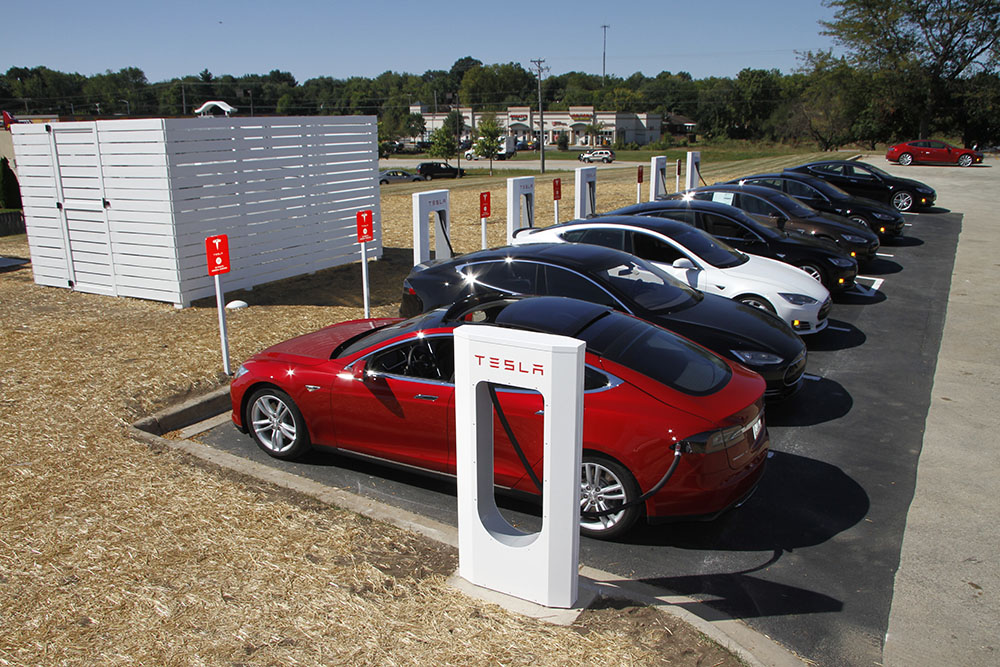 Tesla's next generation of Superchargers will be super-fast!