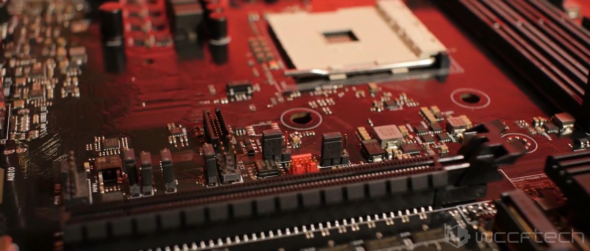AMD AM4 Motherboard Sneak Peek