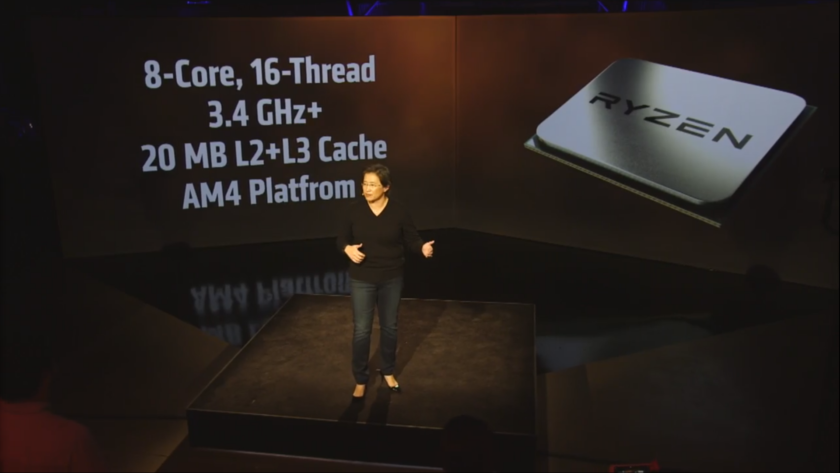 AMD RYZEN Specs