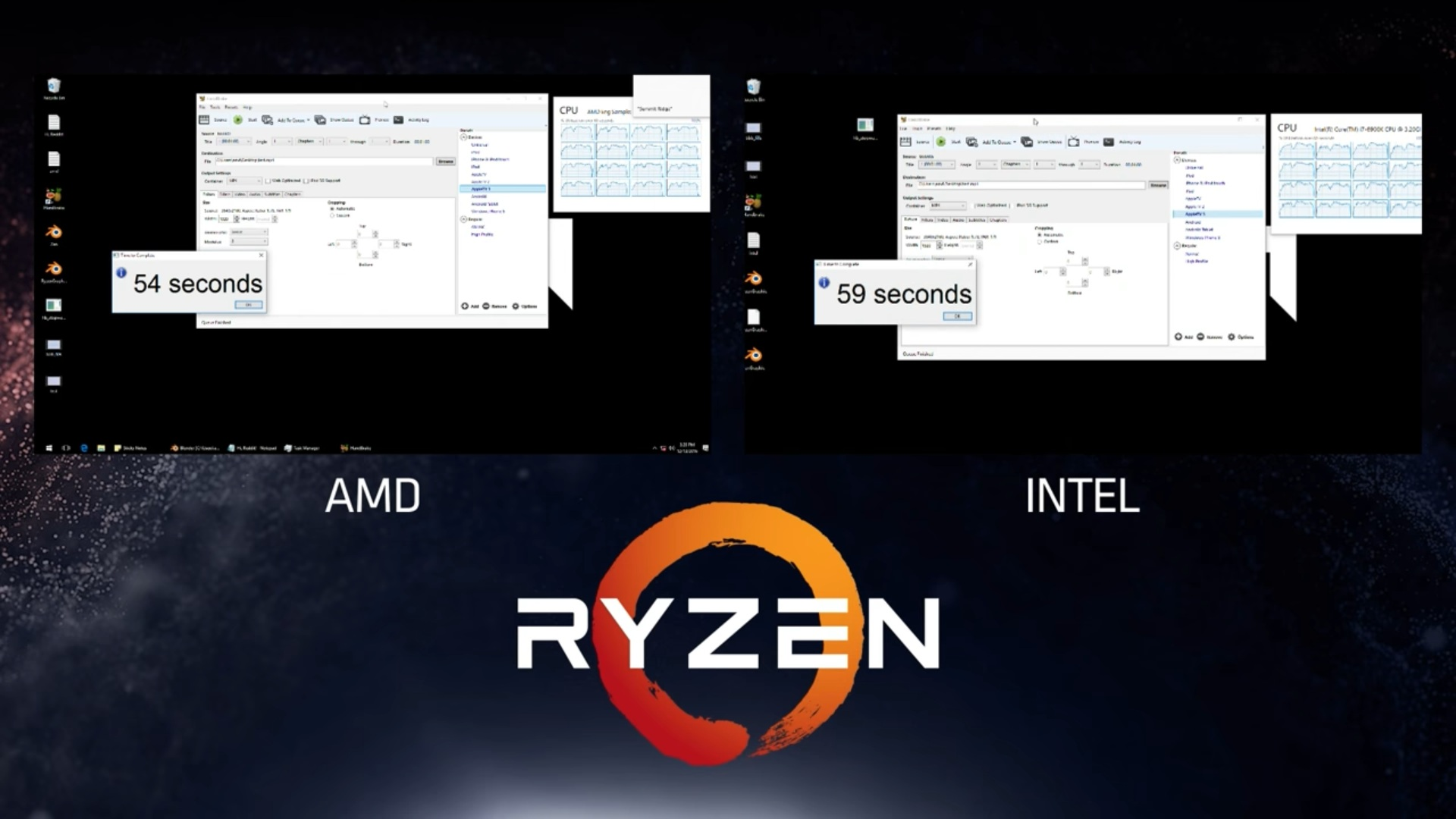 AMD's RYZEN Outshines Intel's Best In 7 Different ...