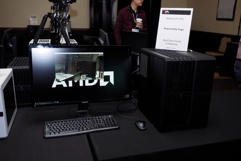 AMD Vega GPU Radeon Pro SSG