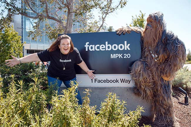 Candace Payne (Chewbecca Mom) and Facebook