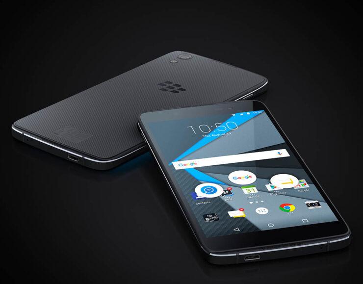 BlackBerry DTEK50 durability test