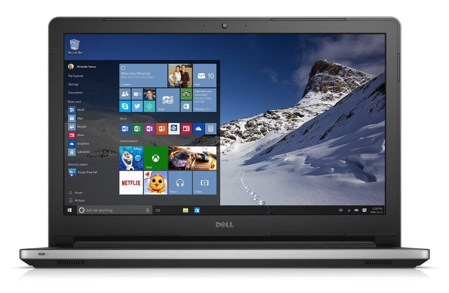 Microsoft offering discounts Dell laptops