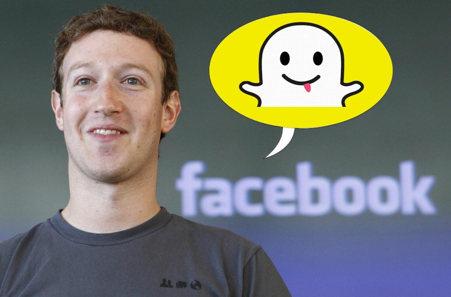 Facebook and snapchat