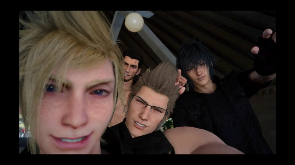 Final Fantasy XV 02 - Group Selfie