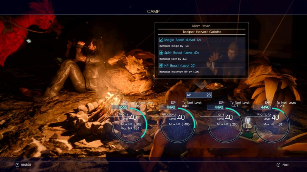 Final Fantasy XV 05 - Making Camp