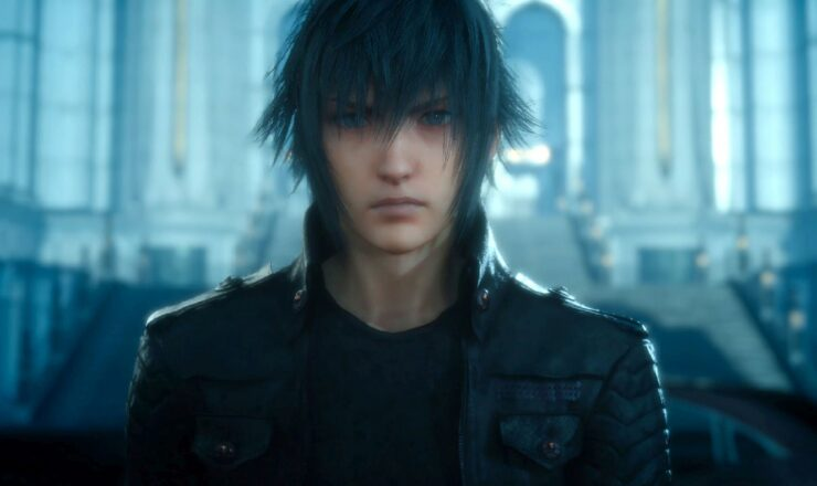 Final Fantasy XV Xbox One X 3k