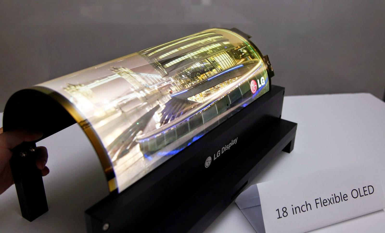 Foldable OLED