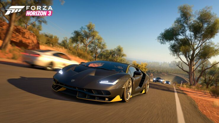 Forza Horizon 3 Xbox One X patch HDR