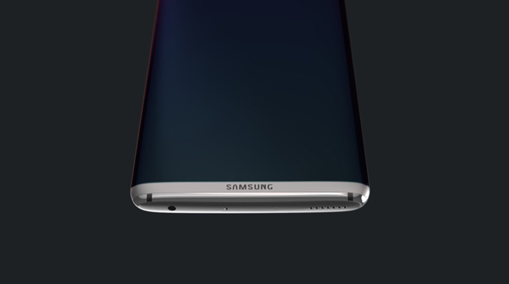 Galaxy S8 large screen stereo speakers