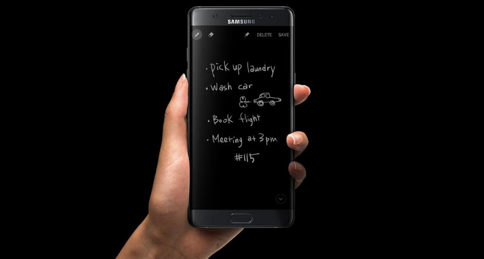 Samsung Note 7 display feature inside Galaxy S8