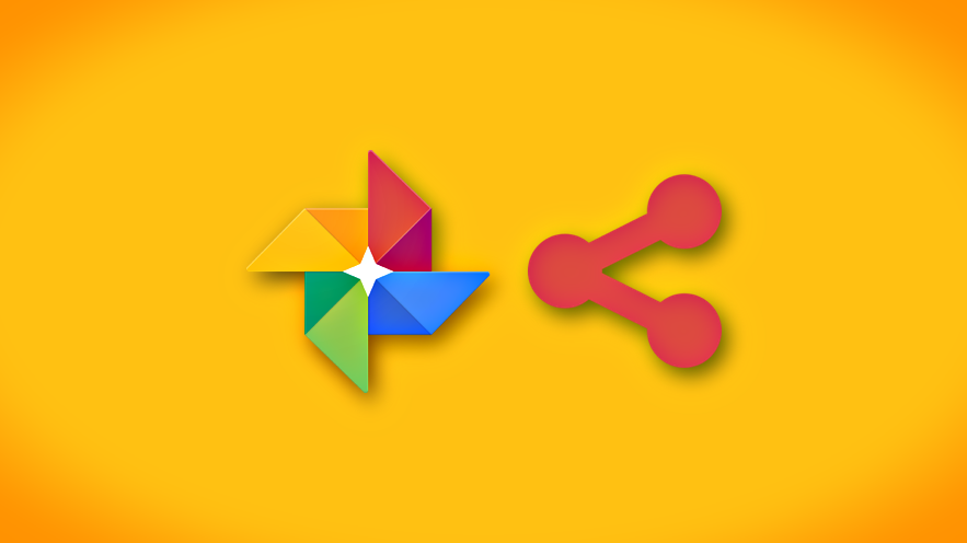 how to create a share link for photos videos in google photos
