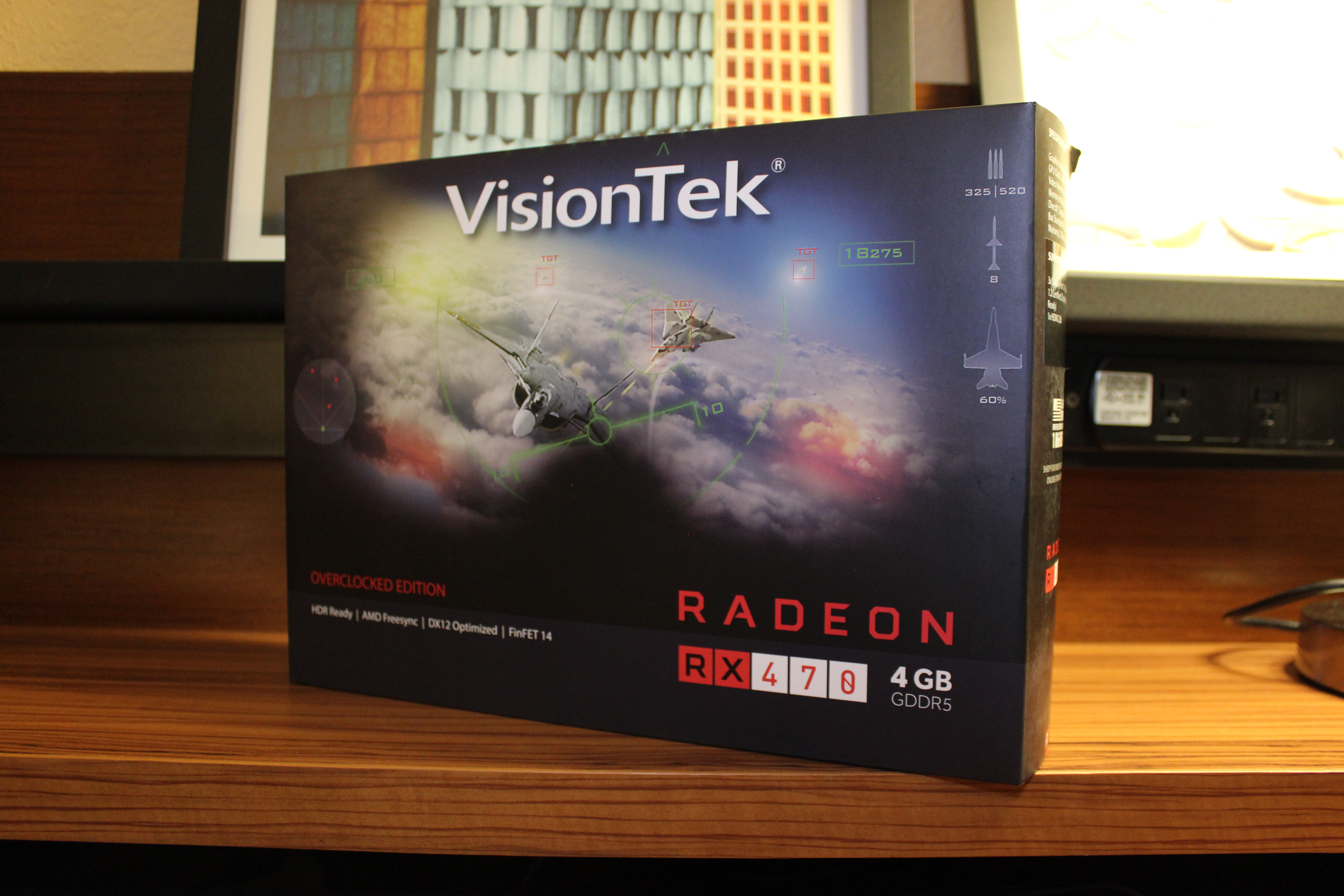 VisionTek RX 470 OC Punches Above Its Class But Not Your Wallet