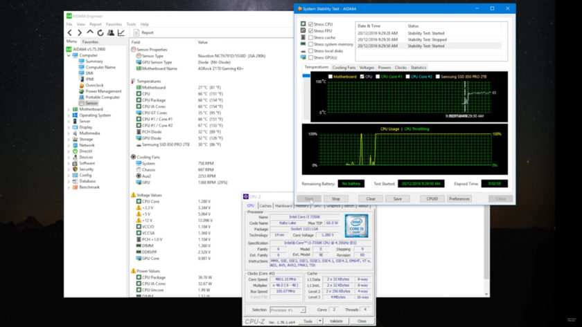 Intel Core i3-7350K_Overclock