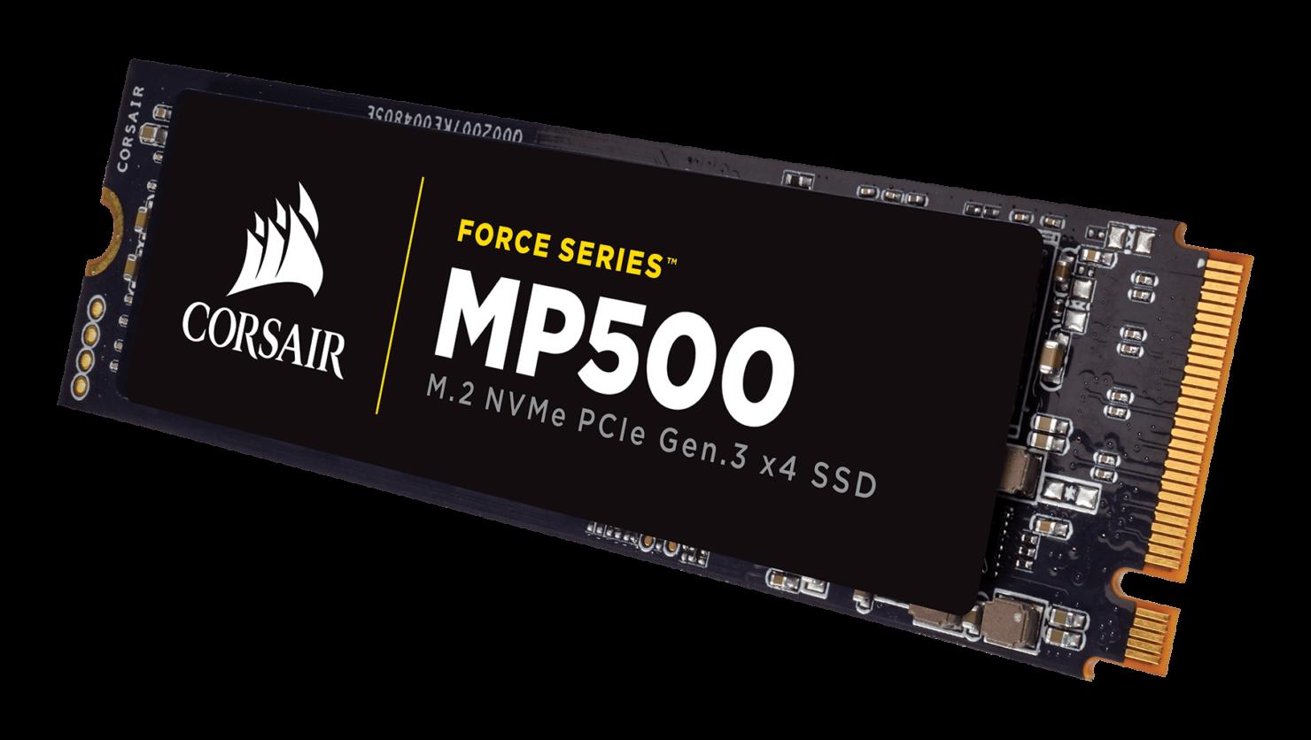 Corsair M.2 NVMe SSD series announced