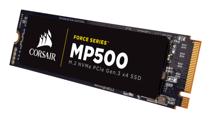 Corsair M.2 NVMe SSD series announced