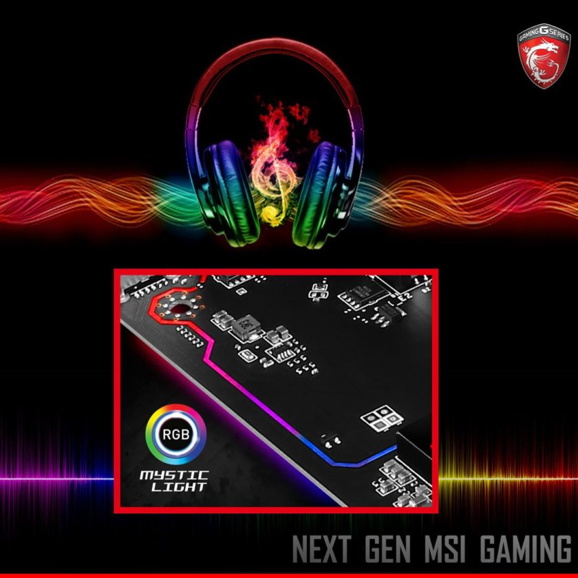 MSI Z270 RGB Audio Line