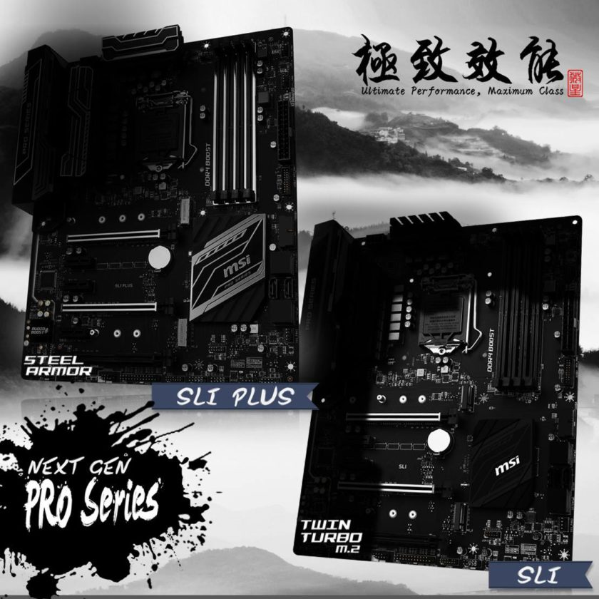 MSI Z270 SLI Plus and Z270 SLI Motherboards
