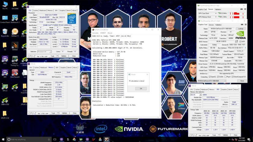 NVIDIA Pascal GPU 3 GHz