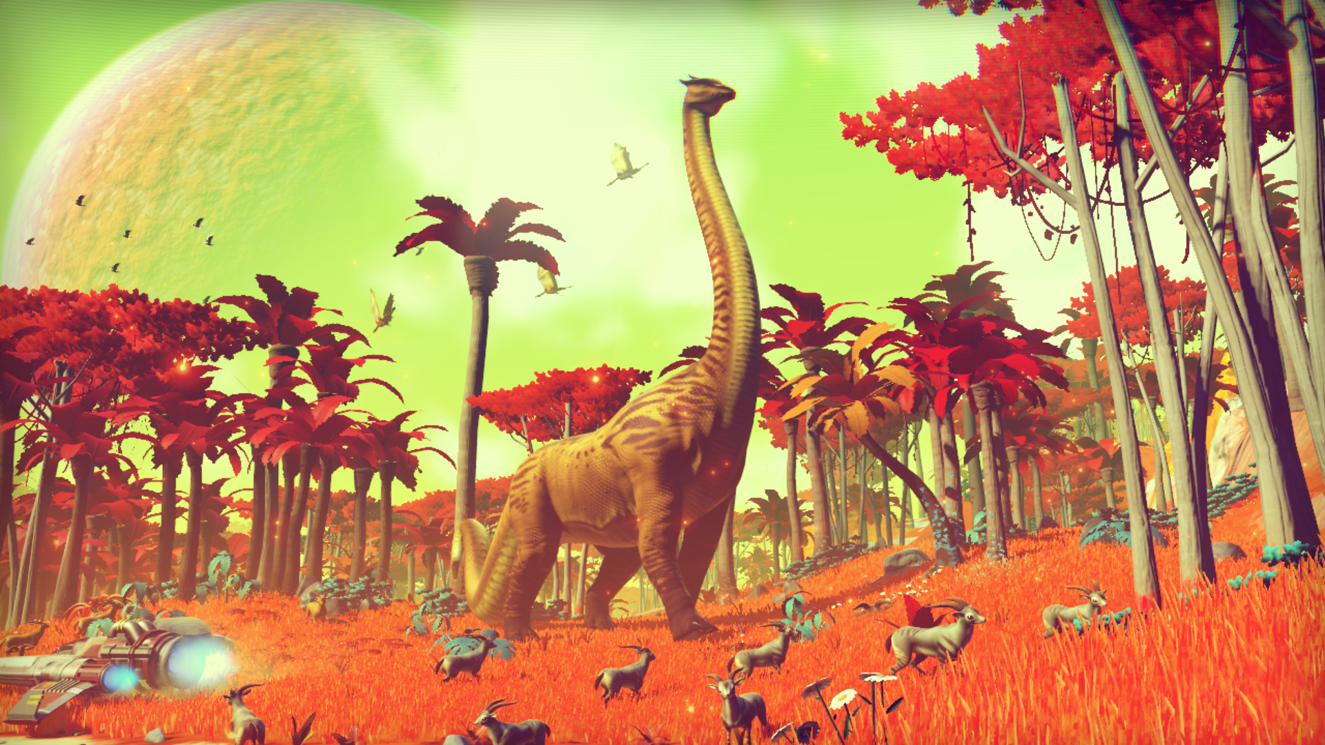 no man s sky new small pc patch to release soon includes a variety