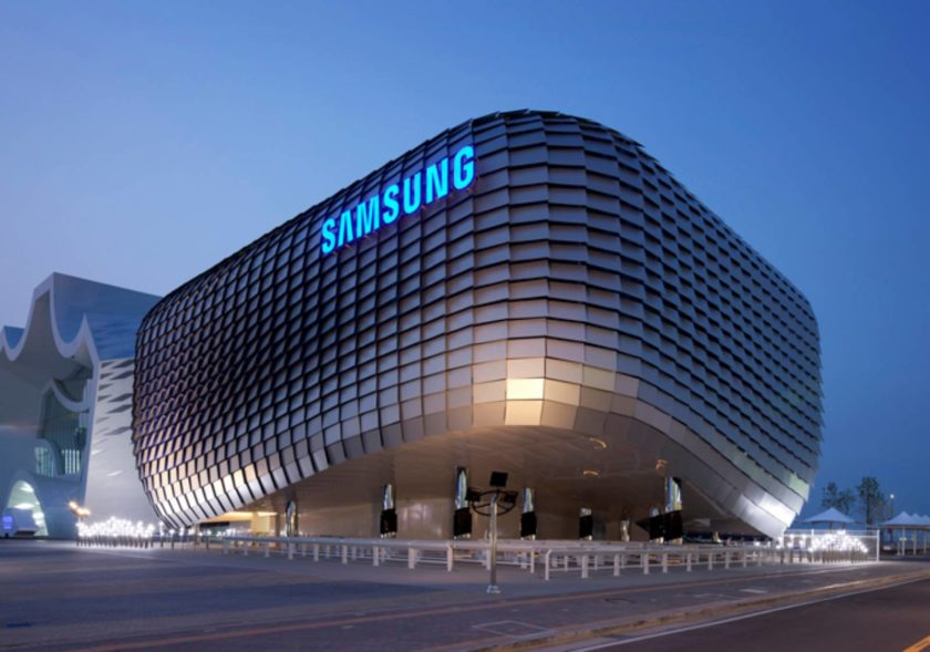 Samsung reported separate chipset business