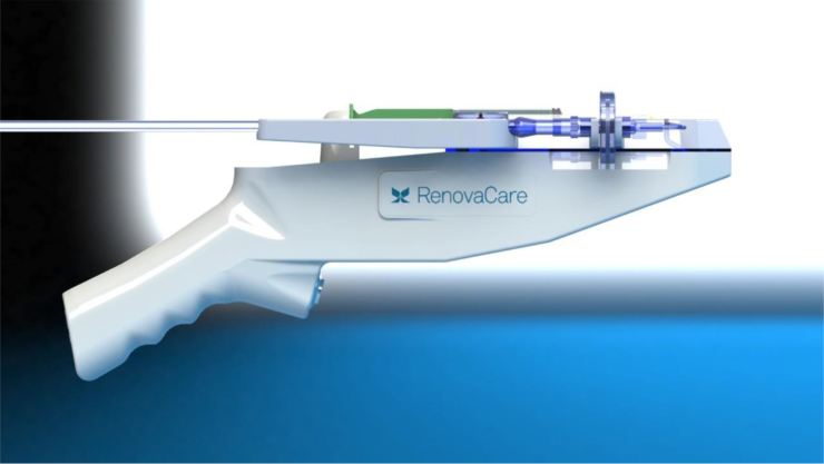 The SkinGun uses your own stem cells and help regenerate skin after burns