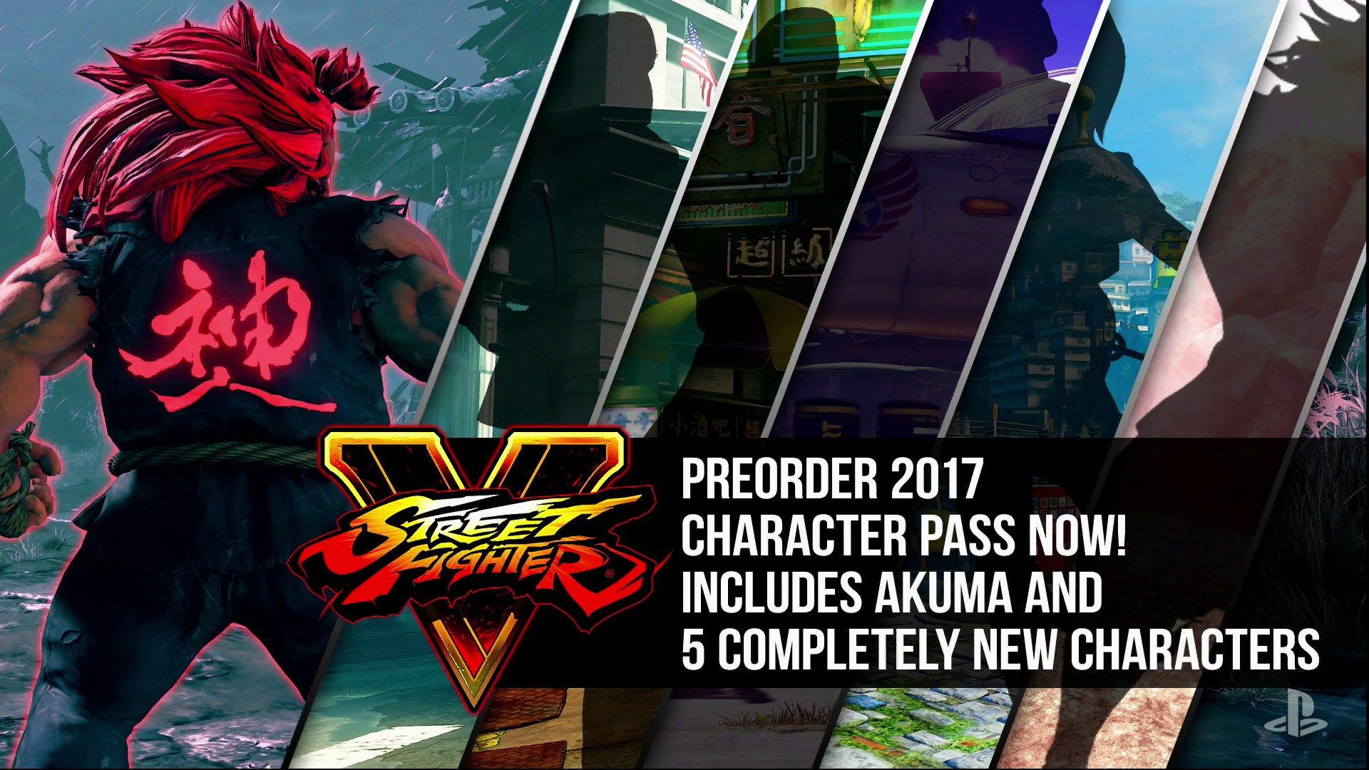 Street Fighter V Playstation Store Image Provides More Season 2