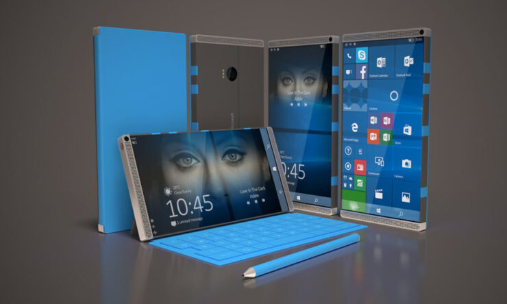 Microsoft Surface Phone MWC 2017