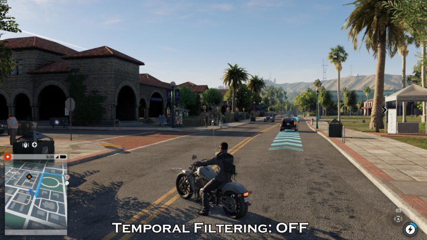 Temporal Filtering Off