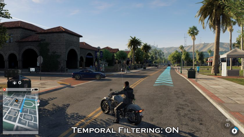 Temporal Filtering On