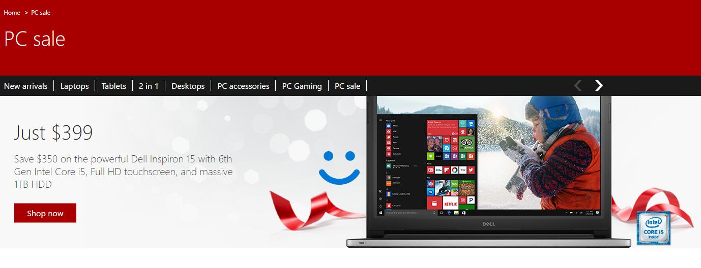 Windows PC sales