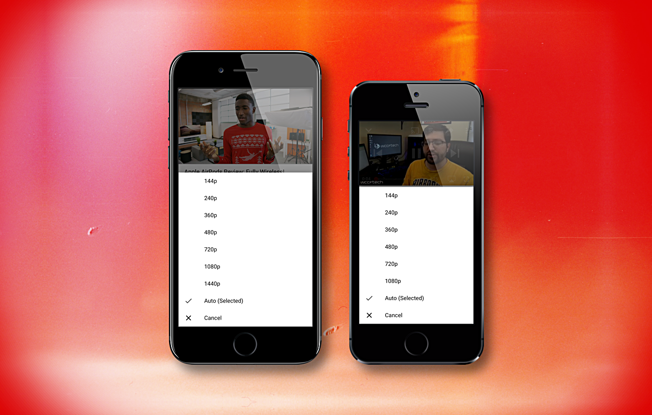 YouTube for iOS Now Supports Up to 1440p Video on Smaller