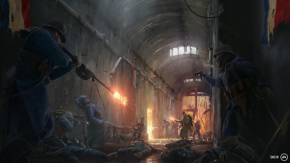 Battlefield 1 DLC They Shall Not Pass