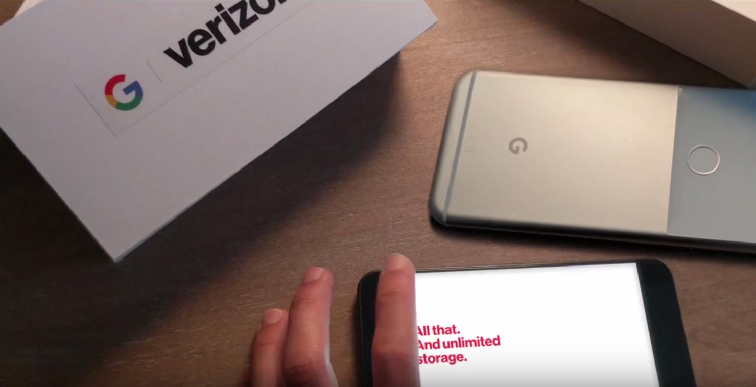 Android Oreo for Verizon Pixel