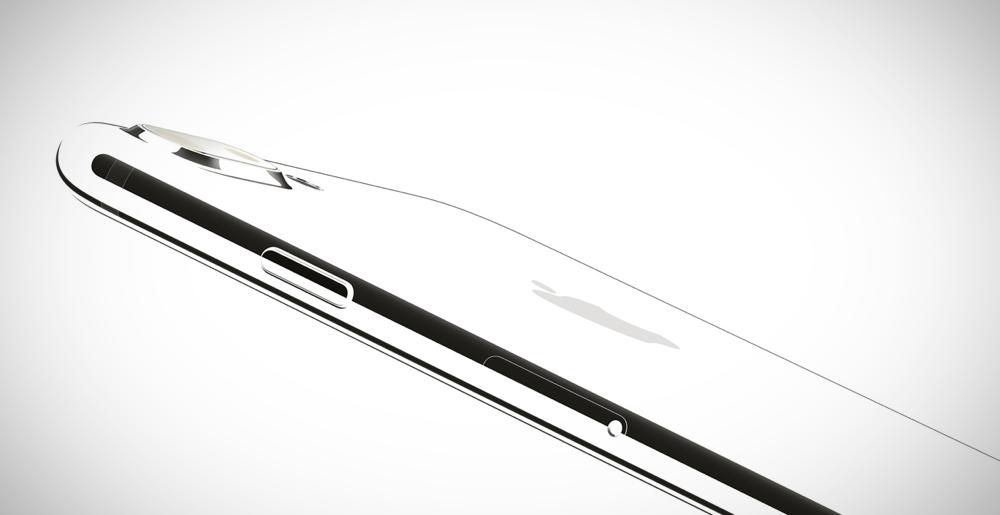 iPhone 7 iPhone 7 Plus Jet White mockups