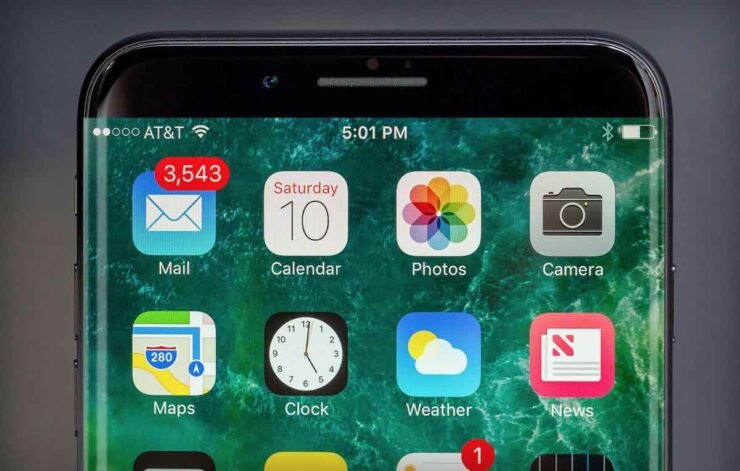 Samsung exclusive AMOLED supplier iPhone 8