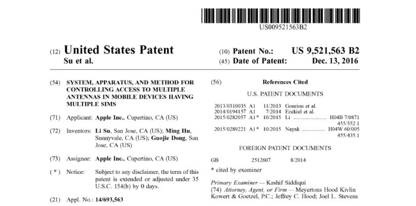 iPhone-Dual-SIM-Patent-Apple