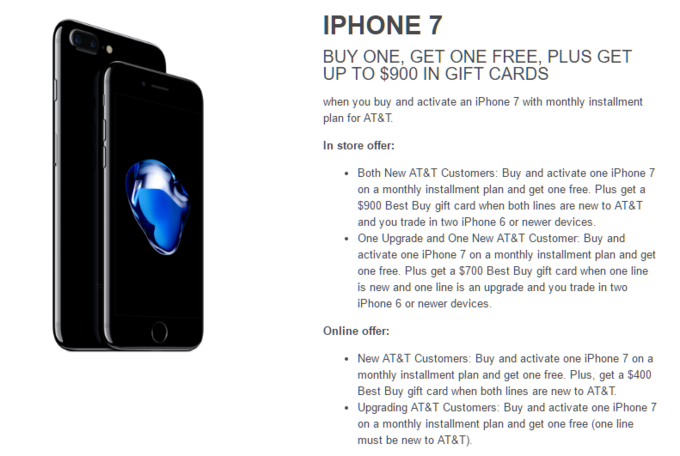Looking For A Free Iphone 7 Best Buy S Got You Covered With 900 Gift Cards