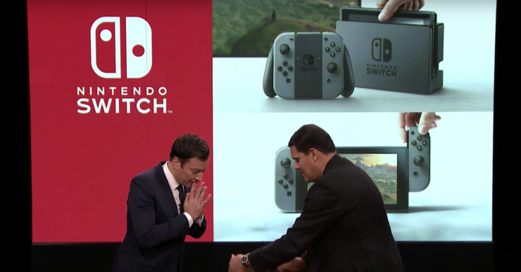 nintendo switch debut jimmy fallon